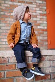 Foto anak laki-laki keren dan modis