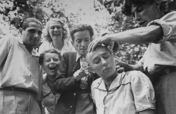 Les tontes de femmes à la libération. dans l'histgeobox / musique et