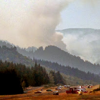 Deception Creek Fire