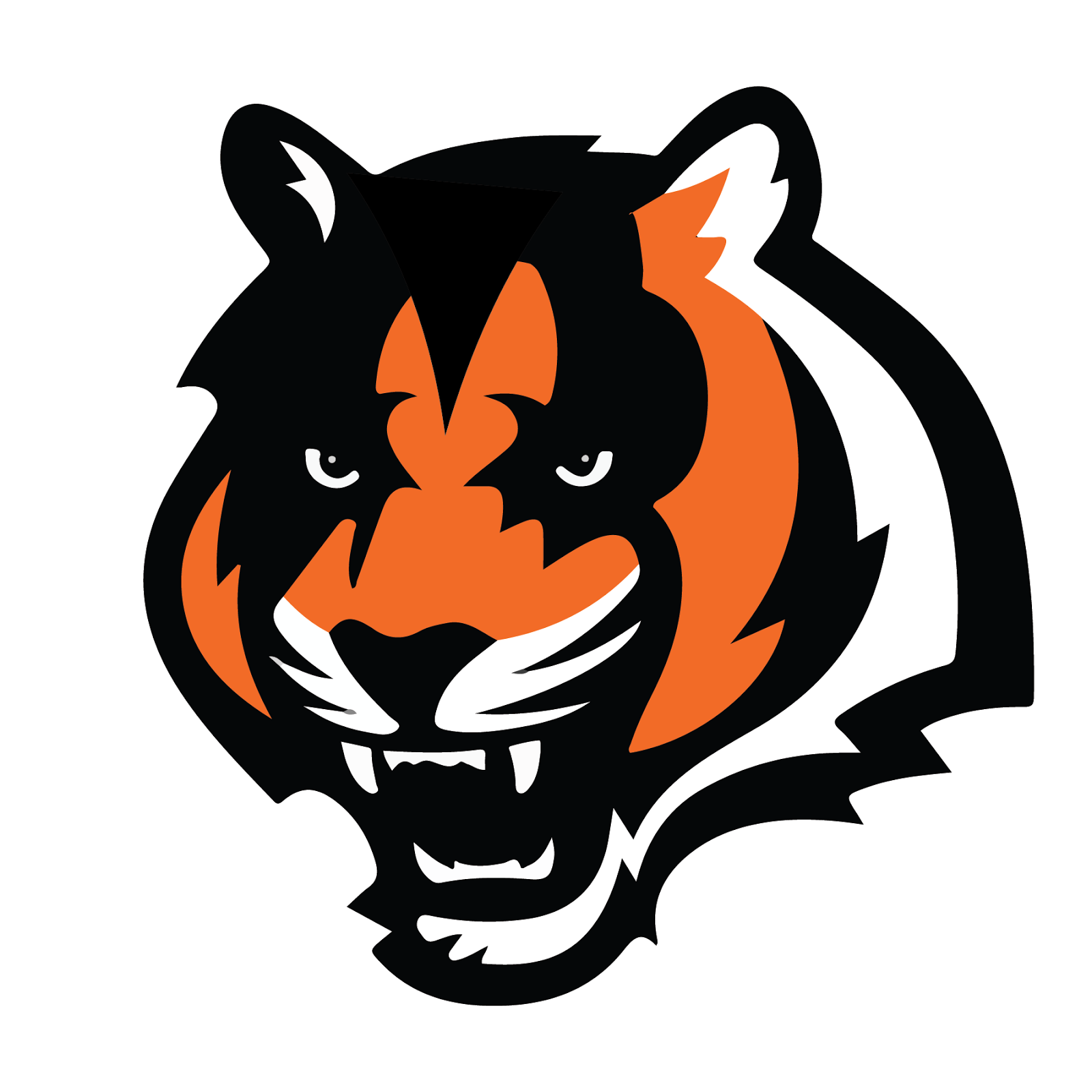 Cincinnati Bengals, metal, logo, re-imagined