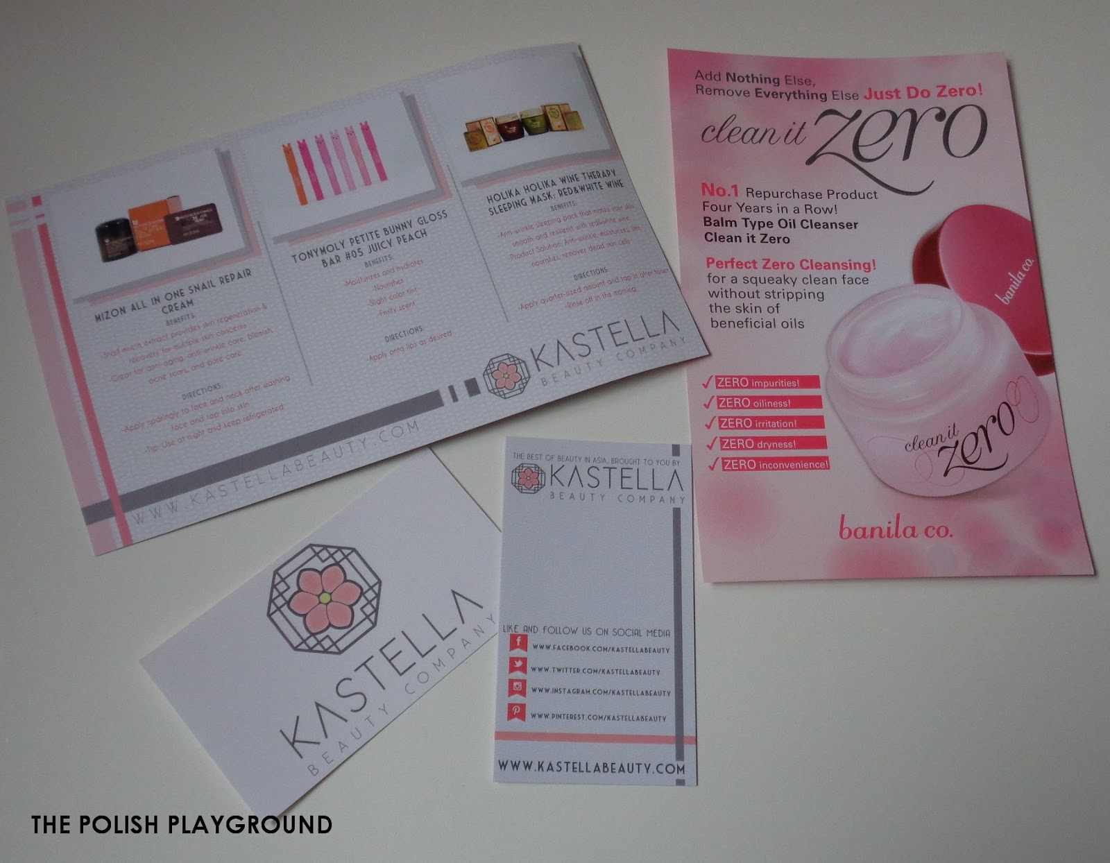 Kastella Beauty PR Kit Unboxing & First Impressions