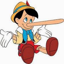 Pinocho - mentiras