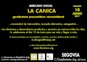 Mercado de La Canica en Segovia 10 de Junio