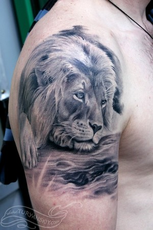 Lion Tattoos Roaring Lion Lion Of Judah