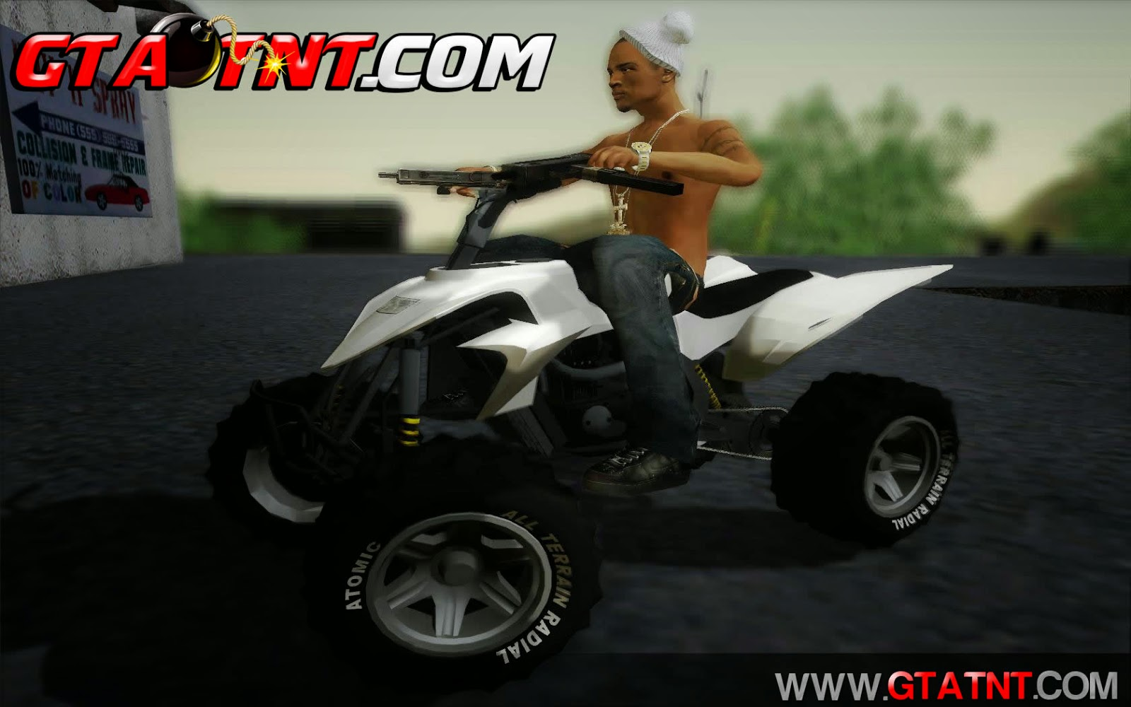 Quad Convertido do GTA V para GTA San Andreas
