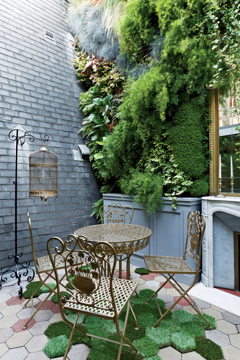 rue vignon outdoor patio Trendspotting:  Honeycomb