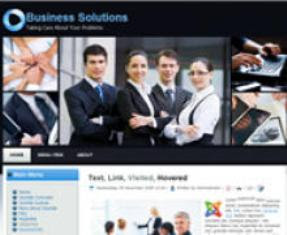 Business Solutions Joomla 1.7 Template