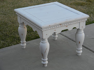 Shabby Chic End Table  *SOLD*
