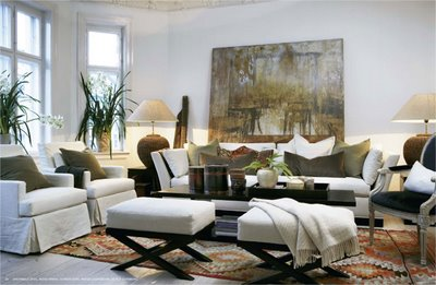 Haus design slettvoll ralph lauren with a european twist for Ralph lauren living room designs