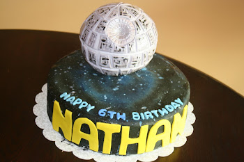 Star Wars - Death Star Cake