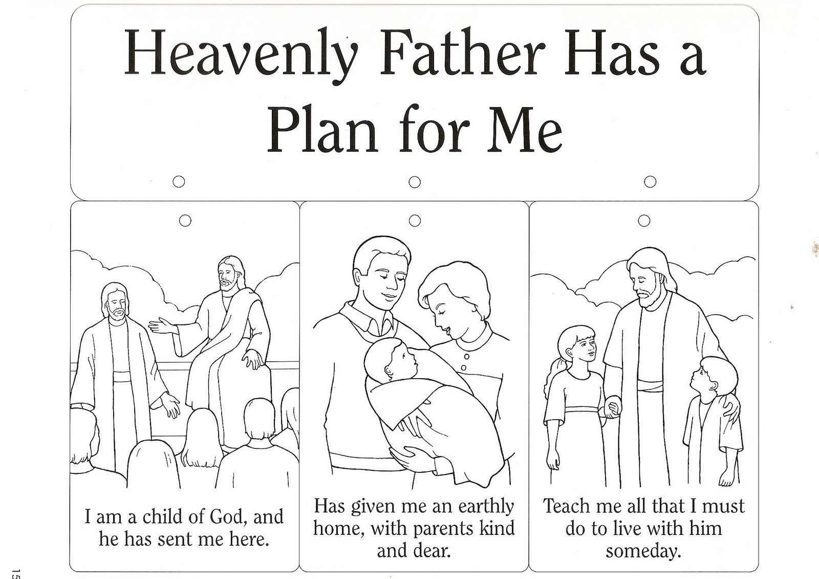 LDS Heavenly Father Clip Art. Letter From Heavenly Father Lds. View ...