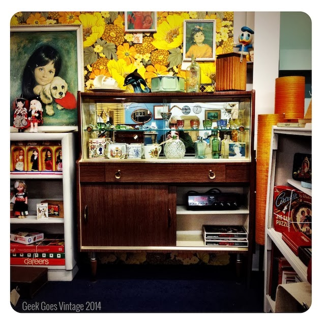1950's Drinks Cabinet