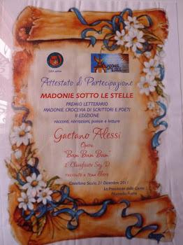 Premio Madonie sotto le Stelle 2012 - Gaetano Alessi - AdEst - 2° classificato
