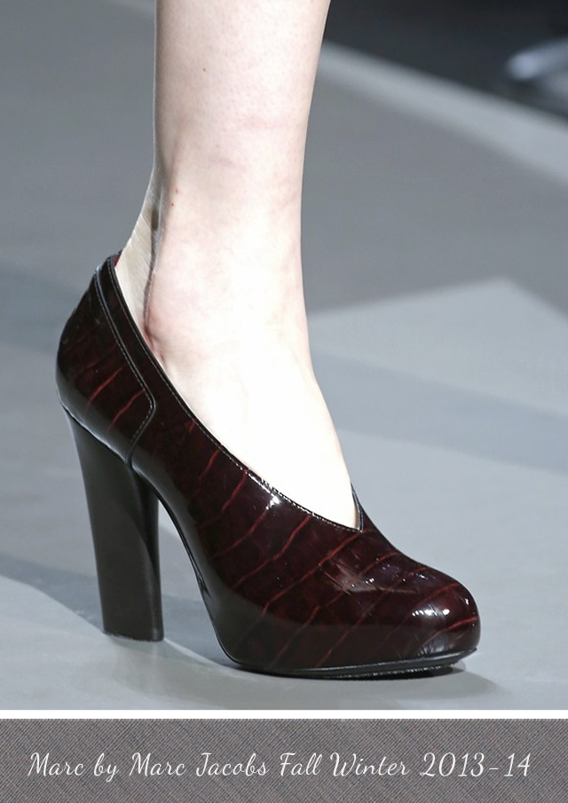 Marc by Marc Jacobs shoes from Fall Winter 2013-14