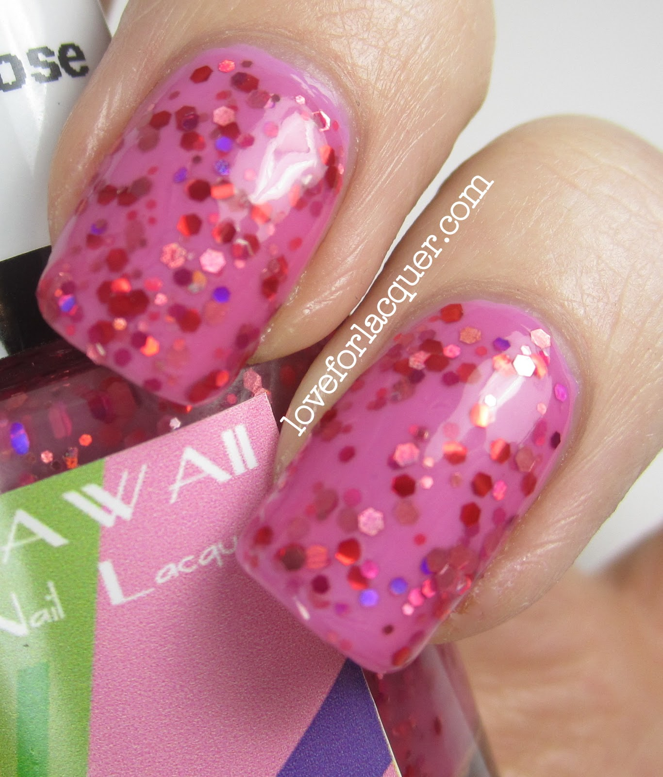 Kawaii Nail Lacquer Tequila Rose & Slime Time Swatches & Review ...