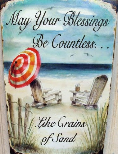 may your blessings be as countless like grains of sand