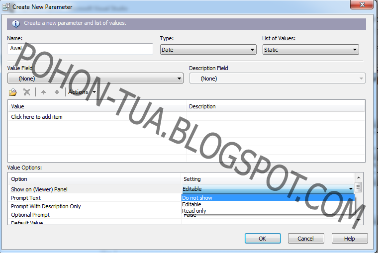Parameter passing in crystal report with vb6 download