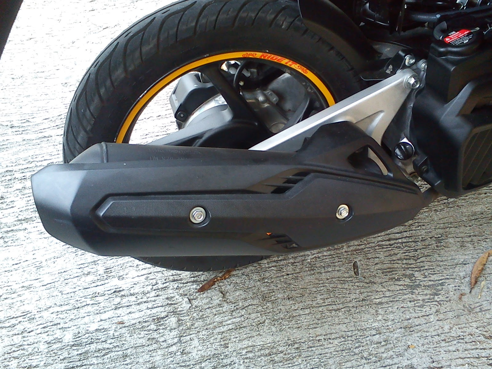 Harga Jual Sepeda Motor Vario 125 Honda Modif New Esp Cbs Iss Bionic Red Solo Ukuran Ban Really Cheap Tires