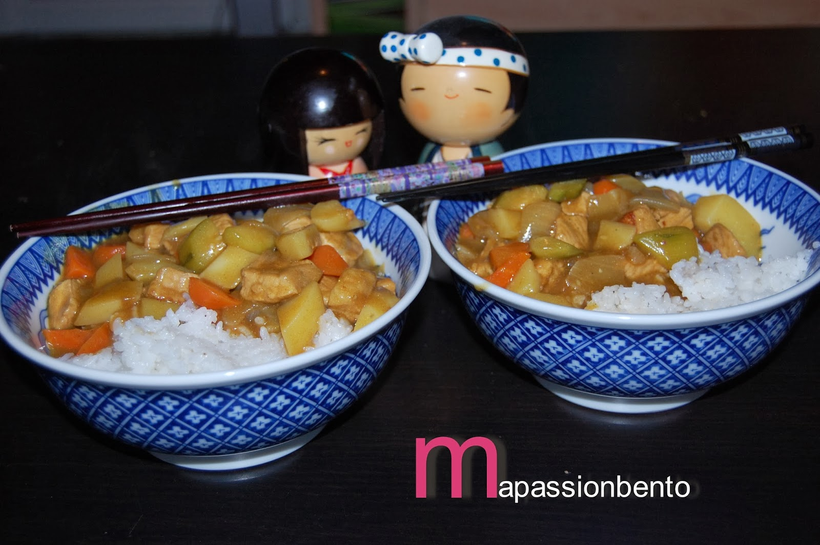 Ma passion bento un curry en amoureux for Plat convivial hiver