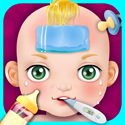 Baby Care & Baby Hospital - Kids Games App iTunes App Icon Logo By George CL - FreeApps.ws