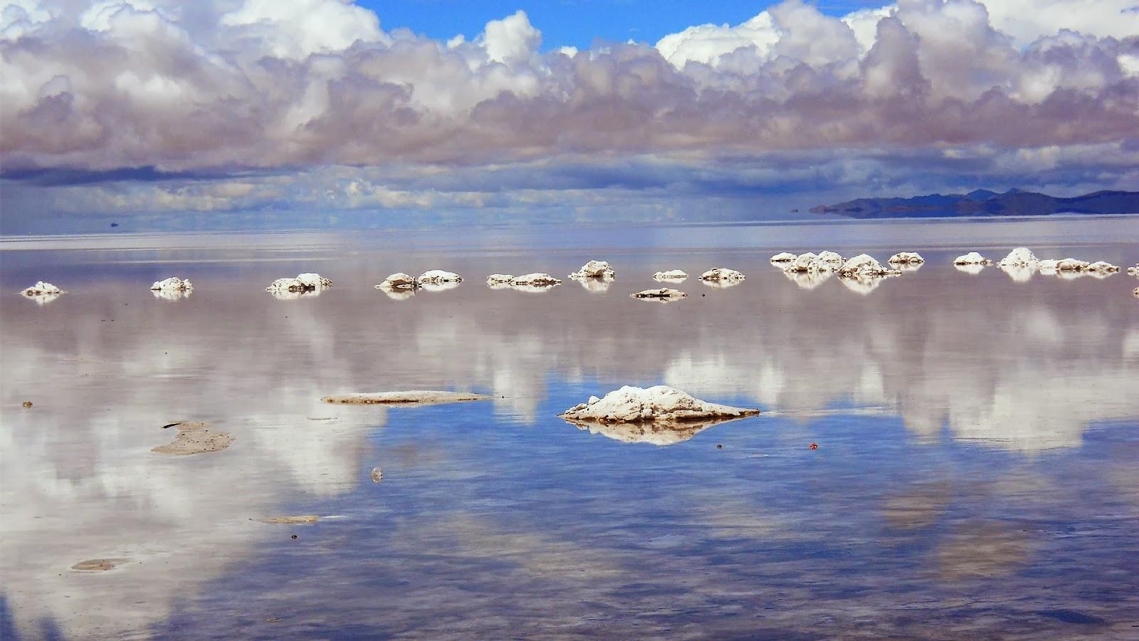 Salar de Uyuni, saltsletten Uyuni, Bolivia