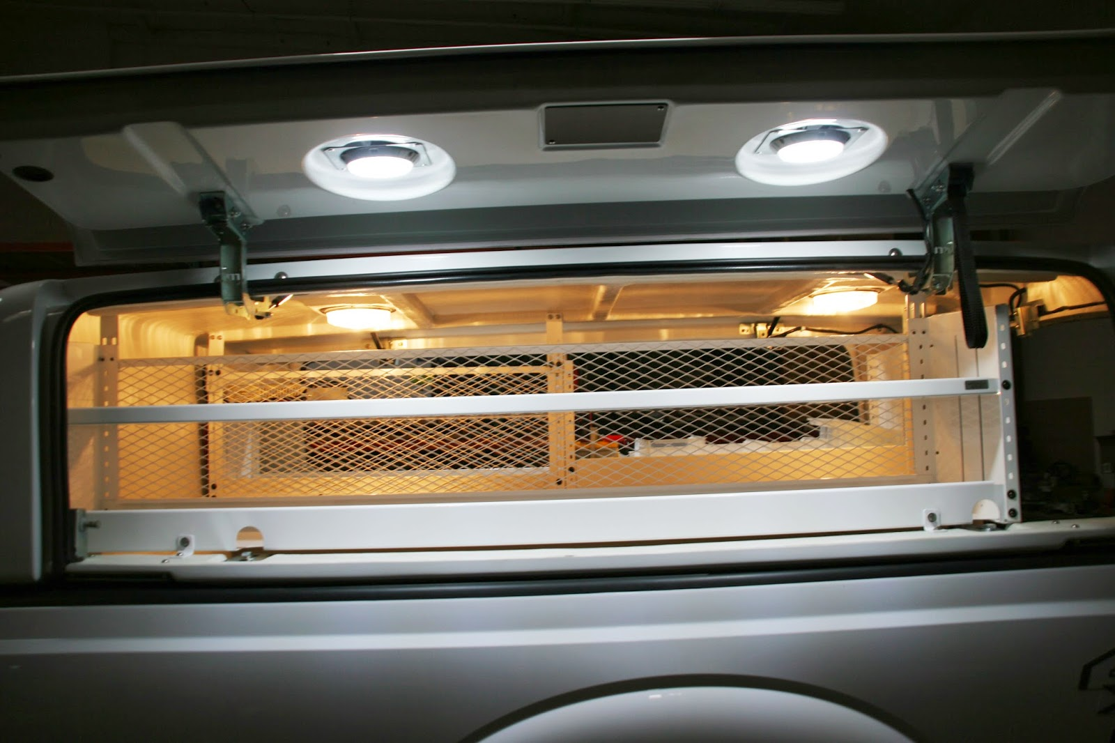 Pickup Toolbox Side Compartments