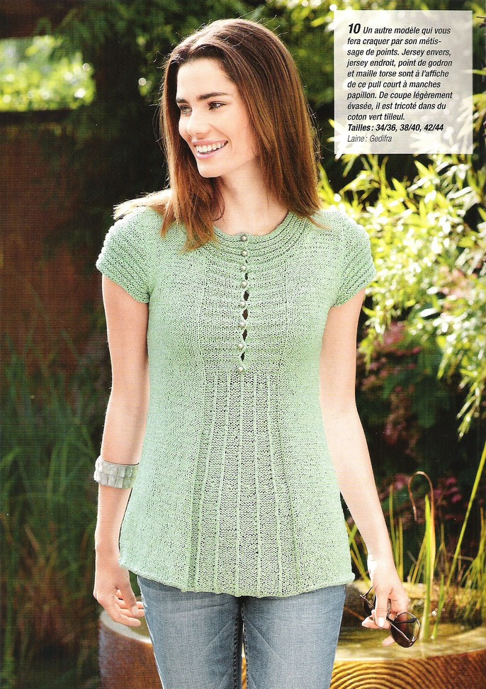 L 39 atelier de ninoun liste des tricots femmes - Tricot a la main ...