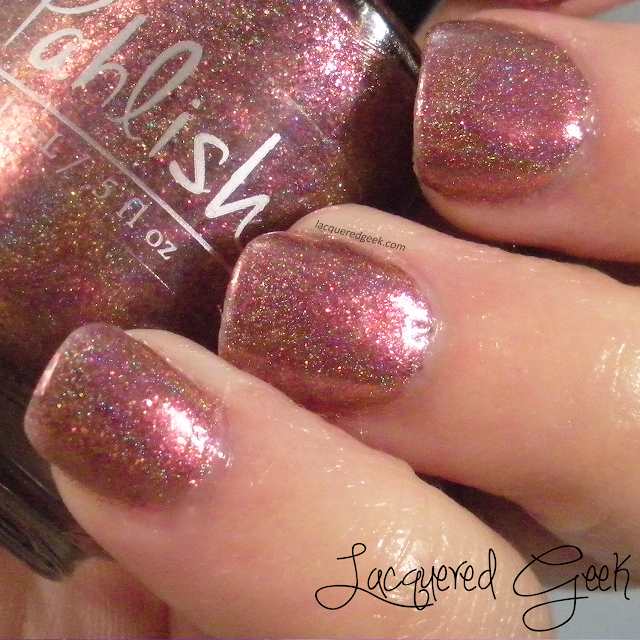 Pahlish Dreamer of Improbable Dreams nail polish swatch