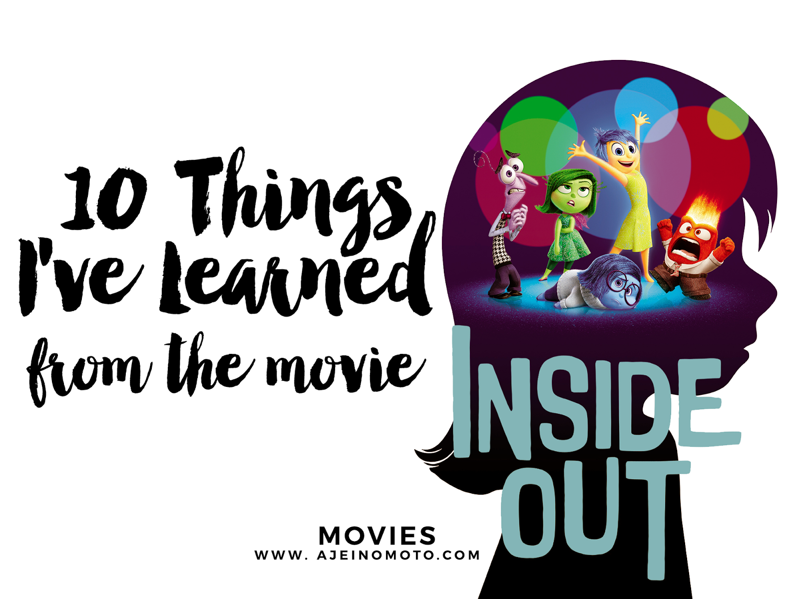 5 Emotional Lessons From the Movie 'Inside Out'