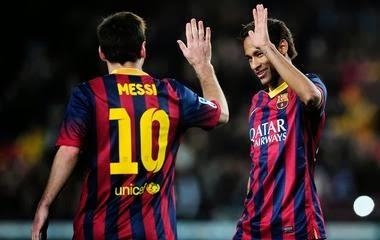 Hasil Skor Video Cuplikan Gol Barcelona VS Vallecano (16/2/2014) Tadi Malam