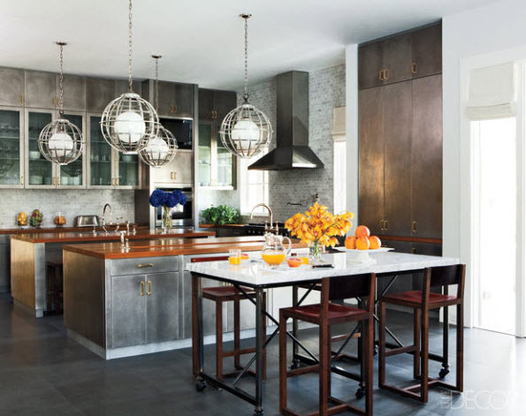 Kitchen islands ideas adding a modern touch to your home for Kitchen ideas elle