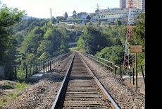 Ponte Ferroviária - Rio Tâmega