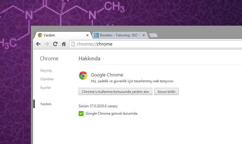 Google Chrome Canary 64bit Windows 7-8-8.1 En Kararlı Sürümü
