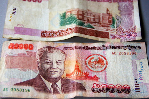 Currency of Laos - Lao Kip