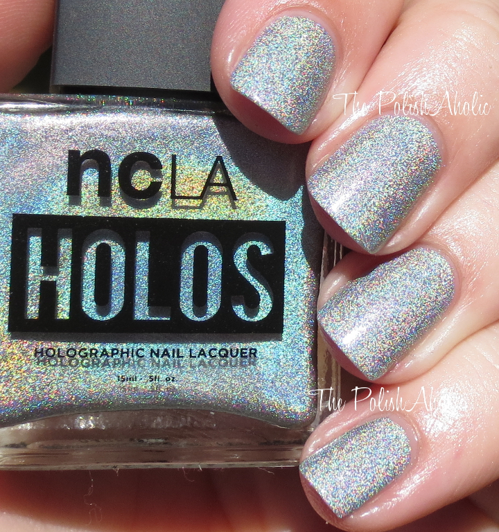The PolishAholic: NCLA Holos Swatches & Review