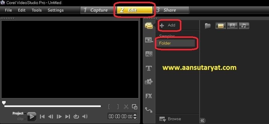 Cara Membuat Project Video Pada Corel Video Studio ProX6
