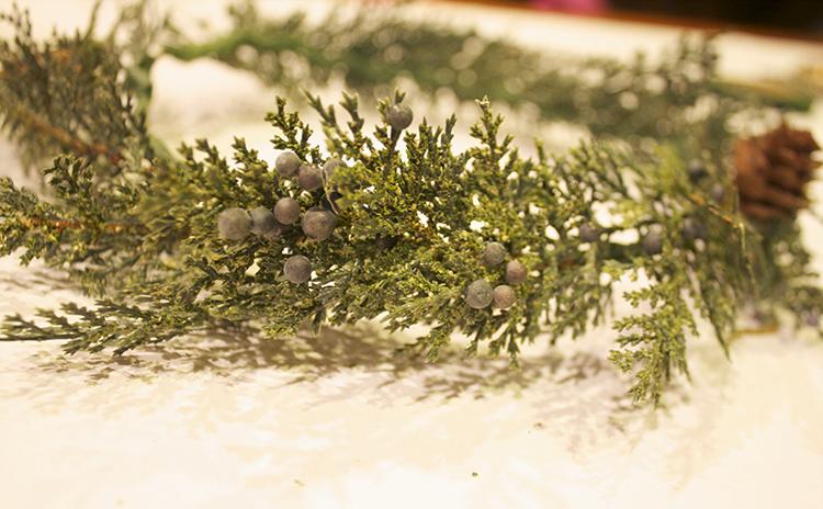 Pine Floral Crown