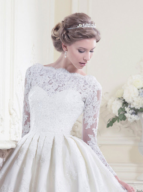 Ellis wedding dresses 2013 lace