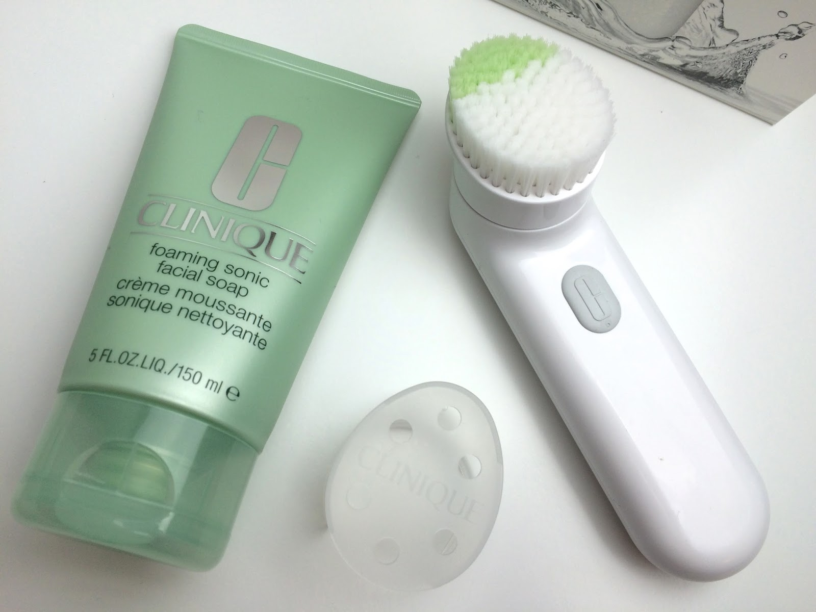 Clinique Sonic System & Sonic Facial Soap