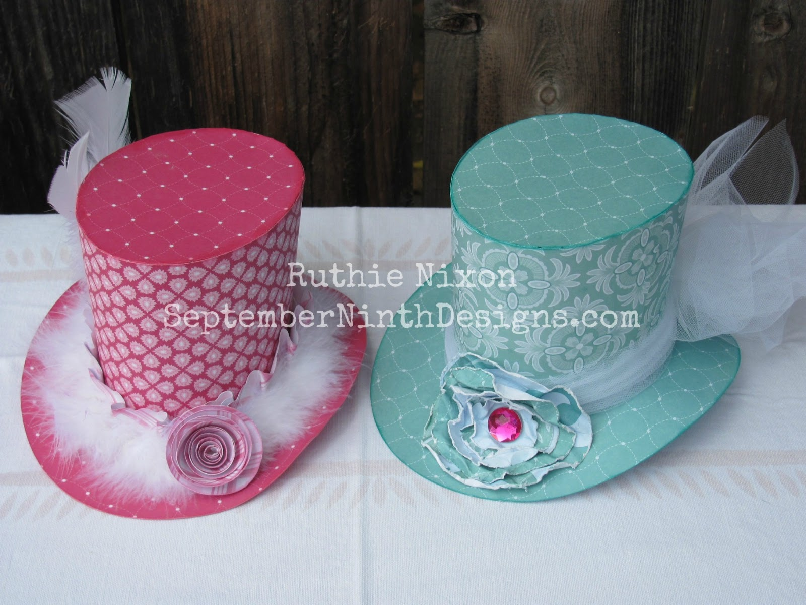 mad hatters tea party ideas for hats