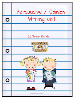 teaching persuasive writing 3rd grade