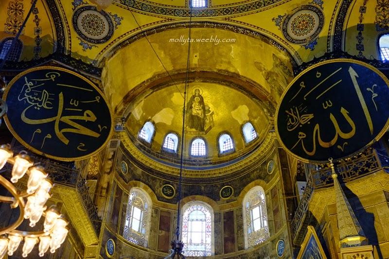 Interior Hagia Sophia