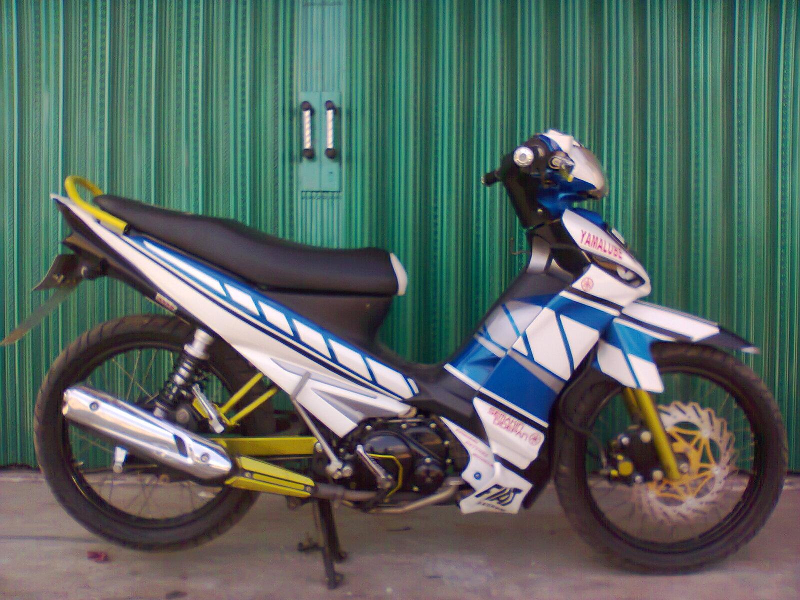 Variasi Stiker Motor Vega Zr terpopuler
