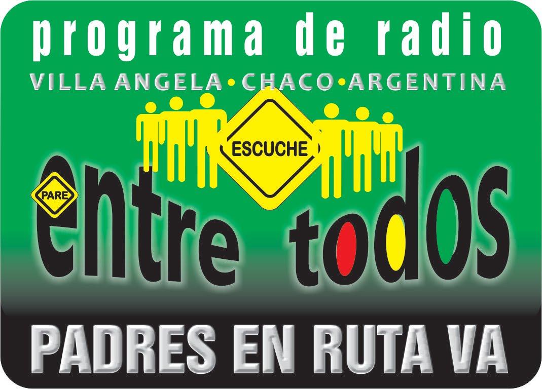 """Escucha nuestro programa radial """"ENTRE TODOS"""", en las siguientes emisoras"""