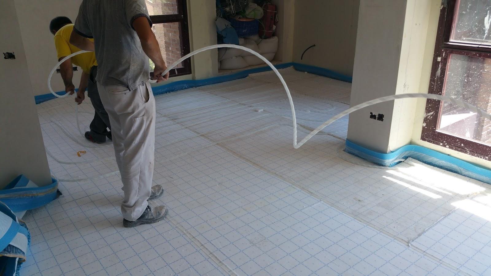 Construcciones pramur suelo radiante - Uponor suelo radiante ...