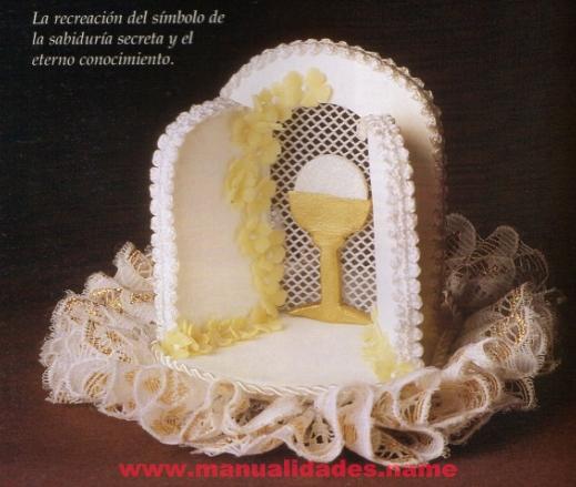 Las chorradikas de Laury: Souvenir primera comunión porcelana fria