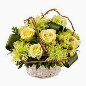 Basket of Dreams Arrangement delivery in Colombia