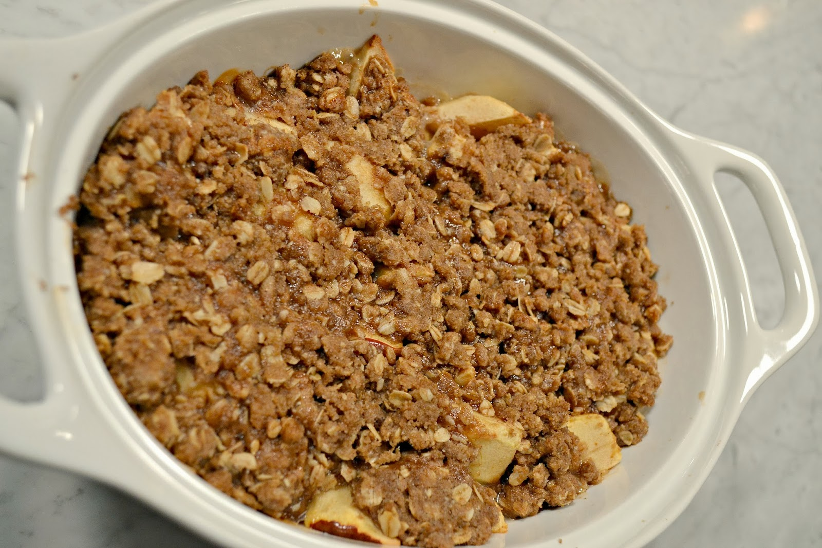 all sorts of Ricci: Easy Apple Crisp