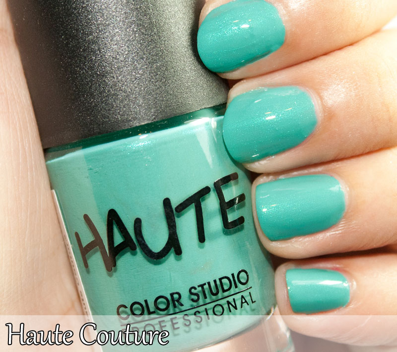 Haute Nail Polish Collection-- Swatches ~ Color Studio Professional