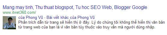 Hien thi hinh anh author tren tìm kiếm, Profile Picture in Google Search Results, hình ảnh tác giả bài viết